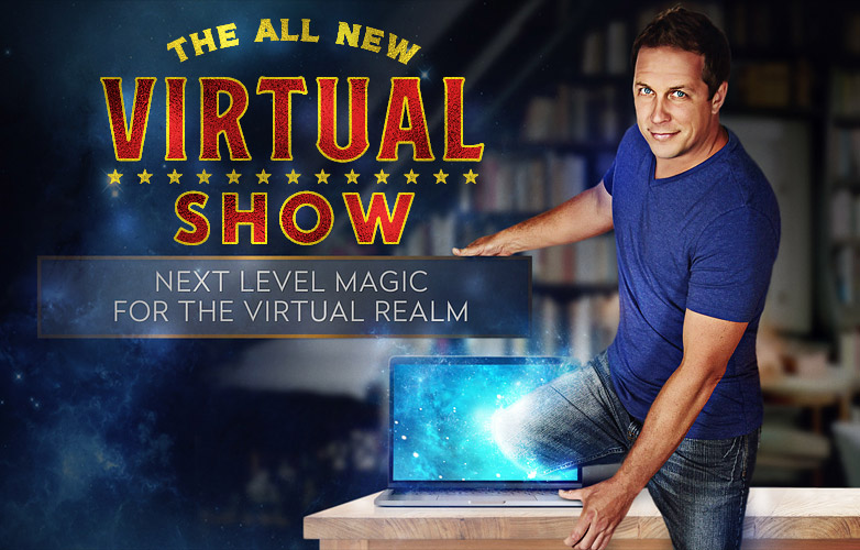 Mike Super's magic all new virtual show